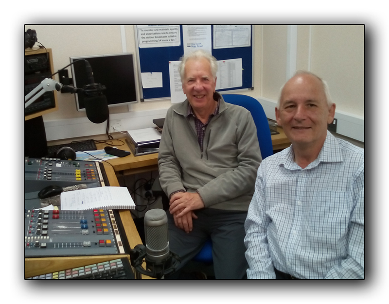 Bob and Dave at Seaside Radio in Shoreham Hospital